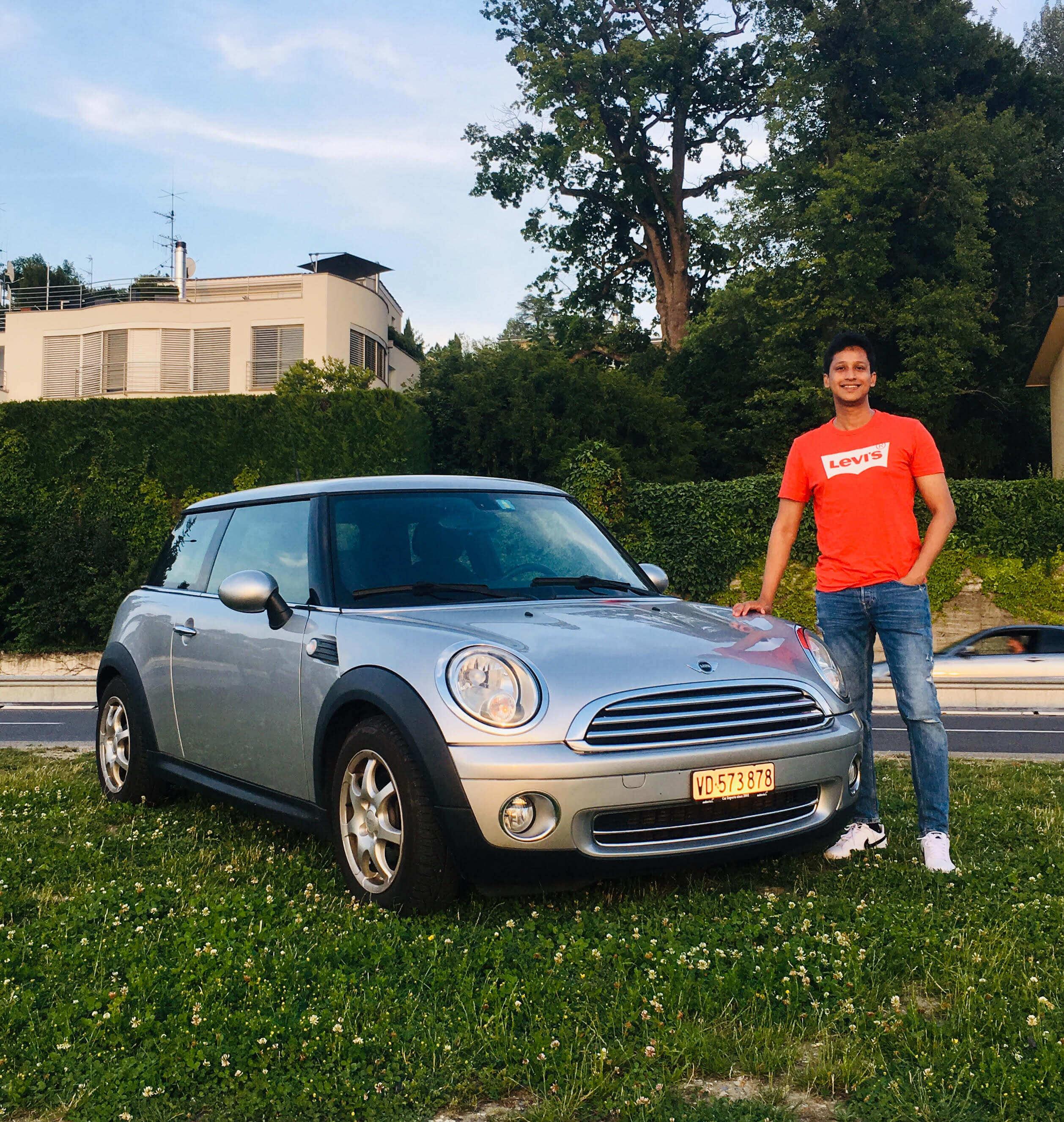 car rental in Switzerland